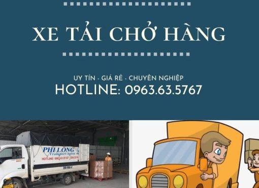 Cho thuê xe tải giá rẻ tại đường Hàm Nghi đi Hà Nam